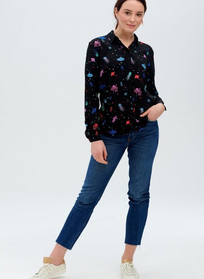 Sugarhill πουκάμισο JOY