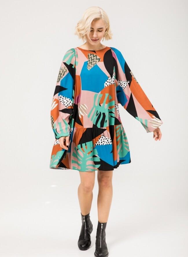 Moutaki φόρεμα κοντό