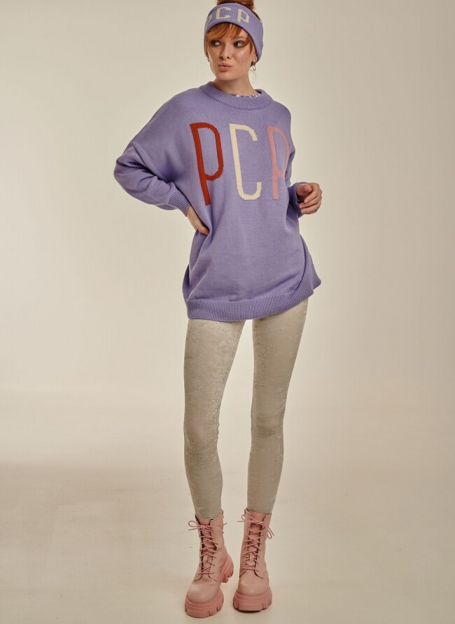PCP Γυναικείο πλεκτό Λιλά