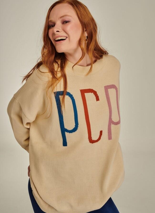 PCP Γυναικείο πλεκτό μπεζ